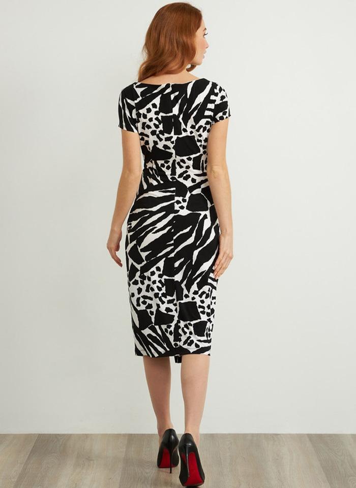 Joseph Ribkoff, Czarno - biała sukienka