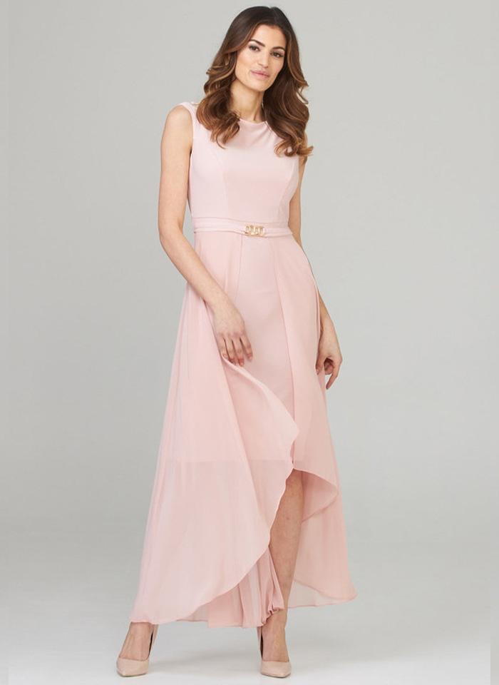 Joseph Ribkoff. Niezwykła sukienka z tiulem 3 kolory