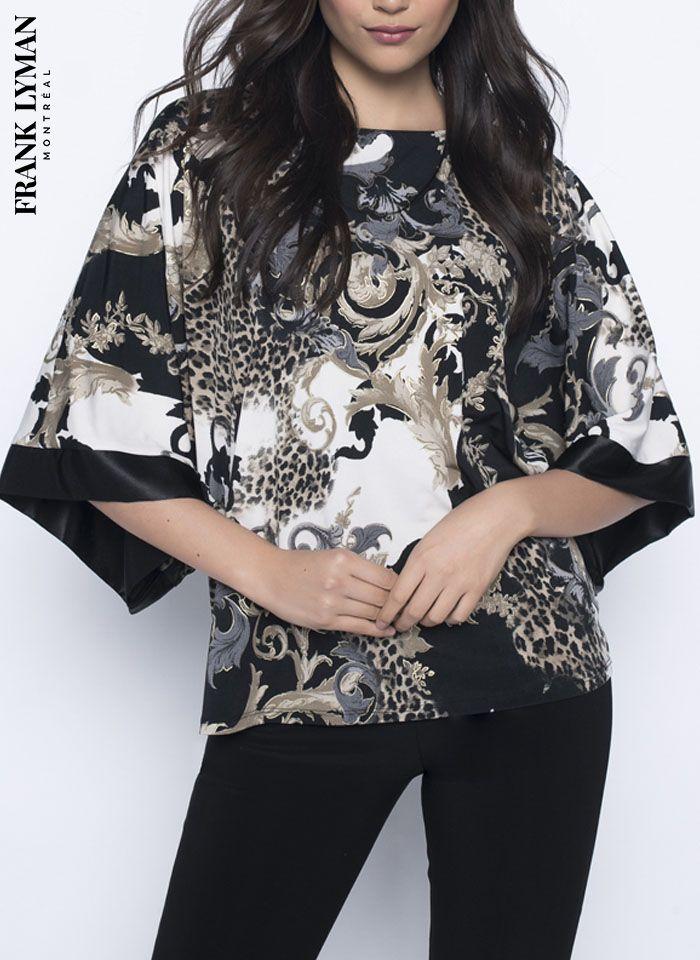 Frank Lyman, Przepiękna bluzka we wzory