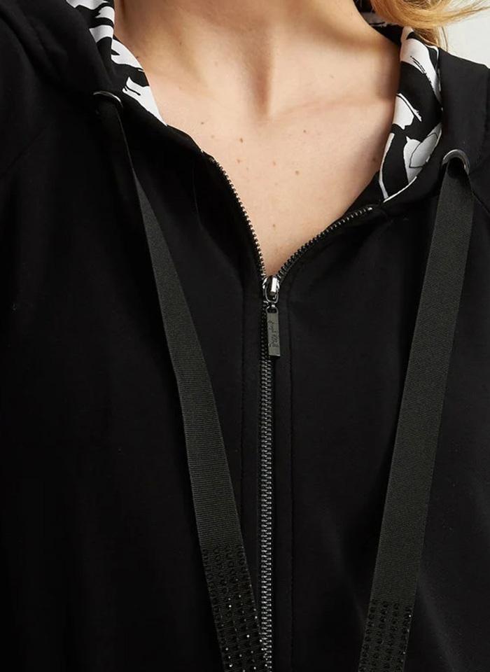 Joseph Ribkoff, Sportowa bluza zapinana na zamek